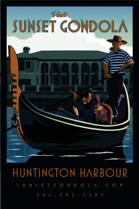 Sunset Gondola Rides In Huntington Harbour A Romantic Cruise